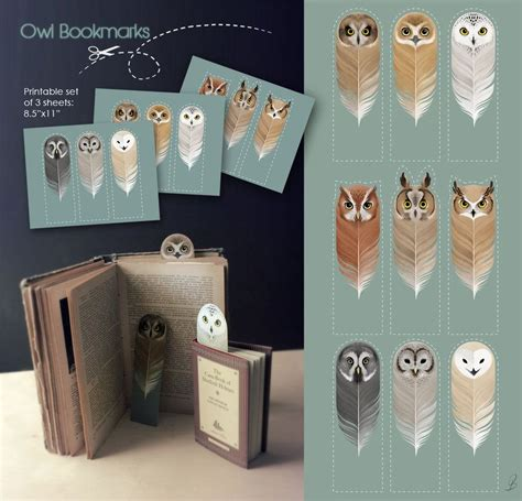 libro the owl who was free printable owl bookmarks for harry potter fans owl imprimibles y libros
