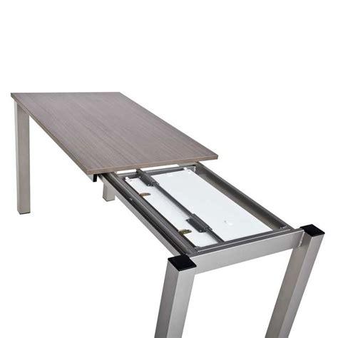 table de cuisine à rallonge table de cuisine rectangulaire en stratifi 233 avec allonge