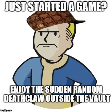 Vault Boy Memes - it happened once imgflip