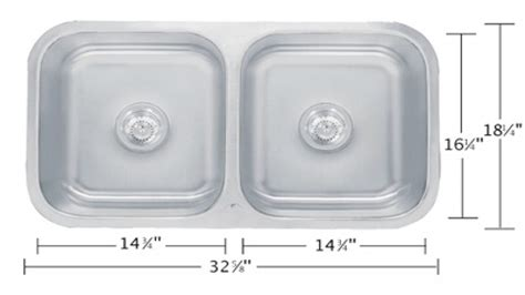 Kitchen Sinks Sizes Standard Size Double Sink Bathroom Standard Size Kitchen Sink