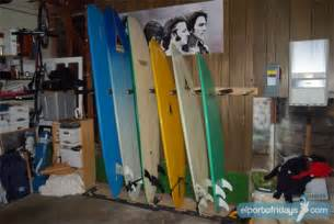 build it yourself surfboard storage rack