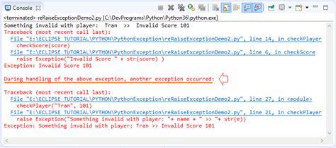 tutorial python exceptions python exception handling tutorial