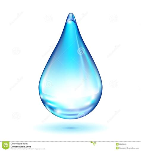 a drop in the vector water drop stock photos image 28409583