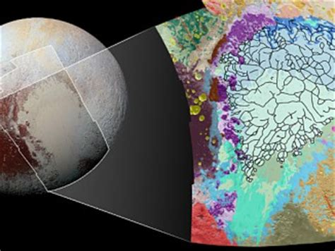 view pluto's bladed terrain in 3 d – astronomy now