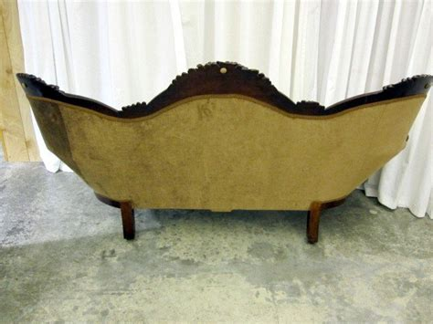antique loveseat for sale antique victorian style medallion button tuck sofa couch
