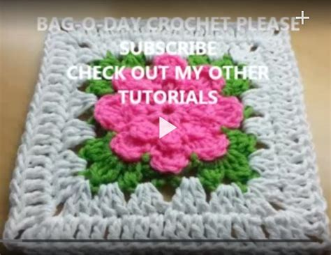 youtube a pattern of roses crochet how to crochet rose granny square tutorial 2