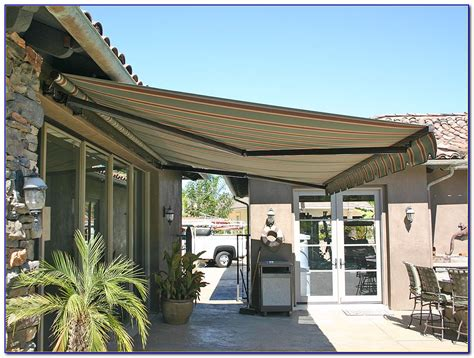 Diy Patio Awning by Diy Patio Awning Ideas Patios Home Decorating Ideas