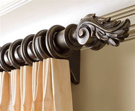 wood drapery rods and hardware best 25 drapery rods ideas on pinterest drapery