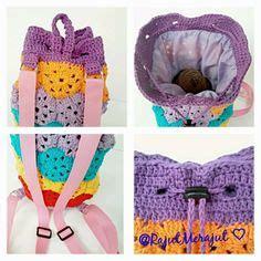 Sling Bag Rajut Rainbow 1000 images about crochet bag on crochet