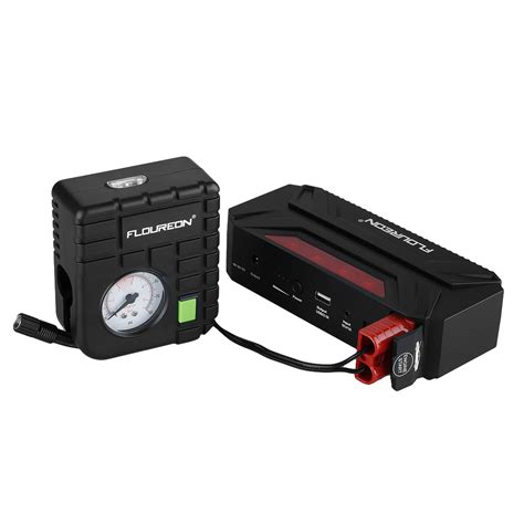 Power Bank Jumbox 18000mah car jump starter power bank battery charger 80psi air compressor ebay