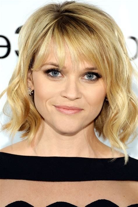 Hairstyles For Medium Length Thin Hair With Bangs   HairStyles
