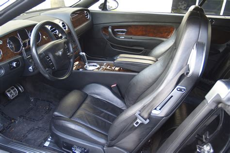 bentley gtc interior 2007 bentley continental gtc convertible 202391