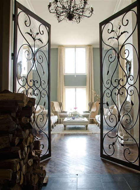 Wrought Iron Interior Door Modern Fairytale Panda S House