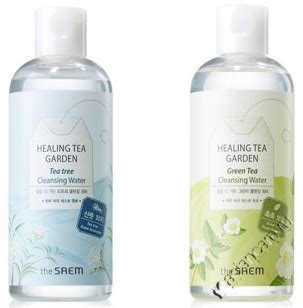 Original The Saem Healing Tea Garden Cleansing Water Pembersih Wajah asiancare ru the saem healing tea