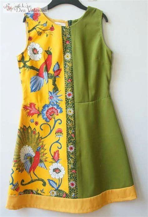 Batik Big Size Mini Dress Baju Pakaian Kerja Kantor Wanita 60911 1008 best batik and kebaya indonesia images on batik fashion batik dress and kebaya