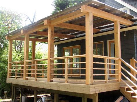 Cheap Banister Ideas Stairs The Right Steps On Building Deck Stair Railing