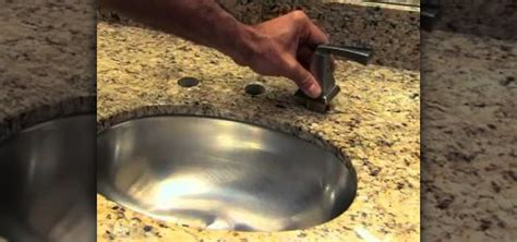 how to install a new delta single handle bathroom faucet