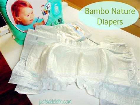 make disposble diapering more green with bambo nature