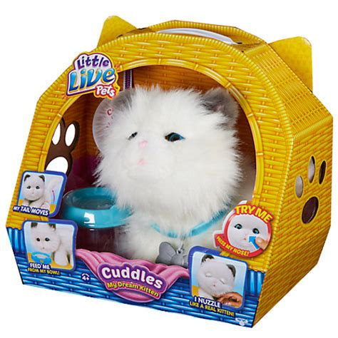buy little live pets snuggles my dream kitten | john lewis