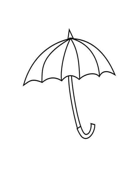 umbrella coloring pages preschool umbrella clip art cliparts co