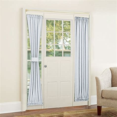 rhf sidelight panel curtains    inches side