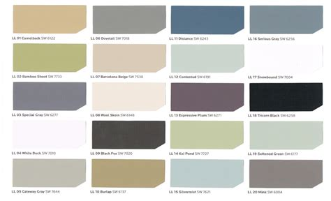 sherwin williams paint colors 2017 the color picker what color collection inspires you