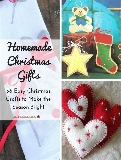 homemade christmas gifts  easy christmas crafts