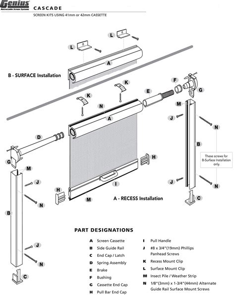 Sliding Glass Door Parts Diagram