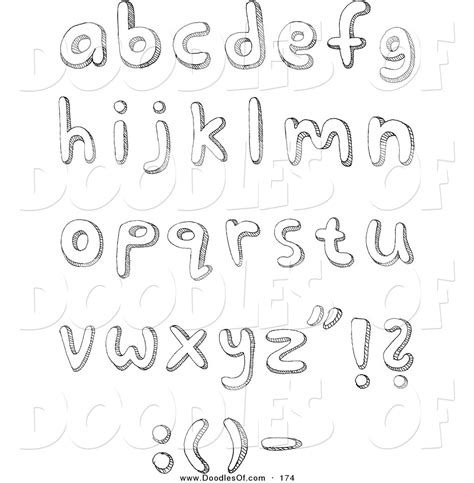 printable doodle letters doodle letters coloring pages