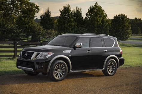 Nissan Y62 2019 by 2019 Nissan Armada Review Ratings Specs Prices And