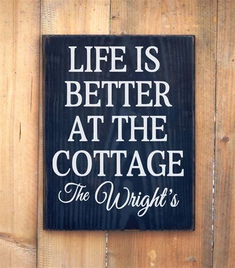 Cottage Name Signs by 25 Best Ideas About Cottage Signs On Lake