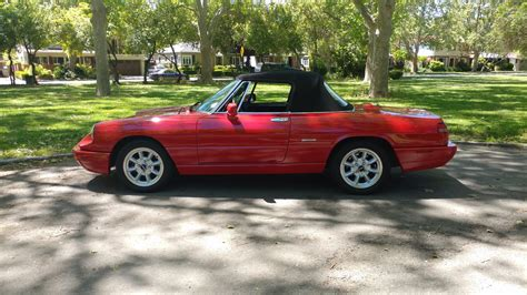 1993 Alfa Romeo Spider For Sale by 1993 Alfa Romeo Spider For Sale On Bat Auctions Sold For