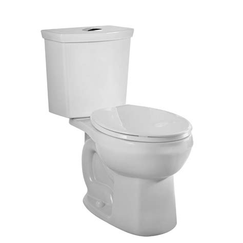 lowes bathroom toilets shop american standard clean white 1 6 1 0 gpf 6 06 3