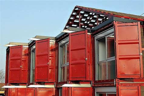 home design story move door a two story house made of eight shipping containers with a modern interior design