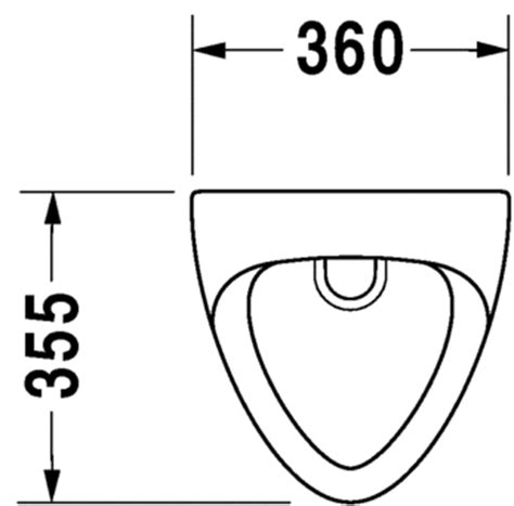 How To Draw A Floor Plan Online by Urinale Urinal Bill 085135 Duravit
