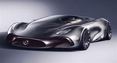 mercedes supercar concept designer s take on a mercedes hybrid supercar looks