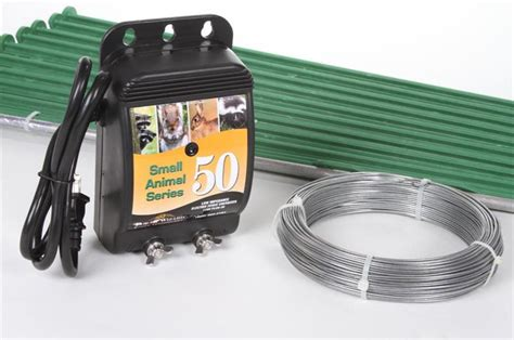 garden safe electric fence kit nixalite
