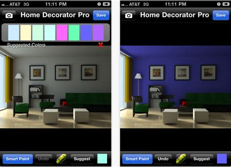 home decorator augmented reality app for iphone