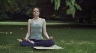Lotus Position Meditation Cross Legged Stock Cross Legged Stock Footage