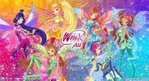 winx club bloomix wallpaper wallpapersafari