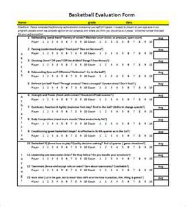 monitoring and evaluation template word 12 free basketball evaluation forms free premium