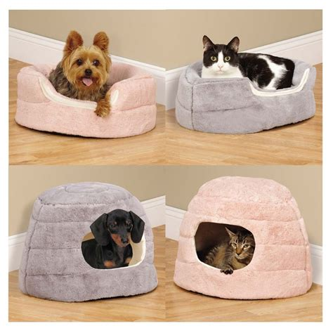 pet r for bed small pet cuddler beds for dogs cats 2 in 1 reversible