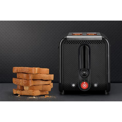 Studio Toaster Dualit 26410 Studio 2 Slice Toaster Black Homeware