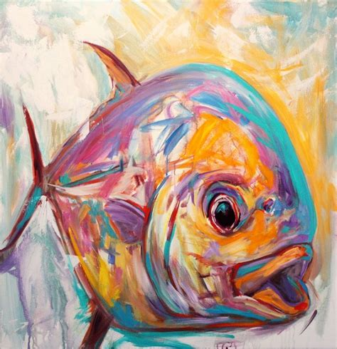 painting pictures best 25 fish paintings ideas on fish