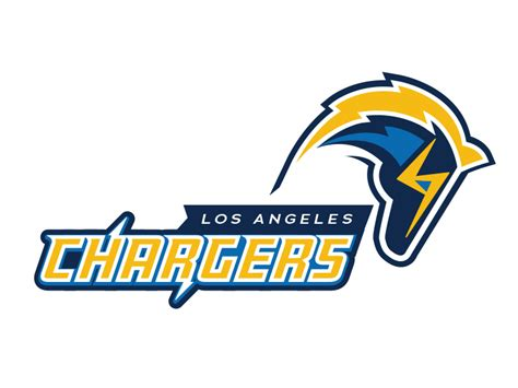 chargers logo nfl la chargers logo v2 by martin merida dribbble
