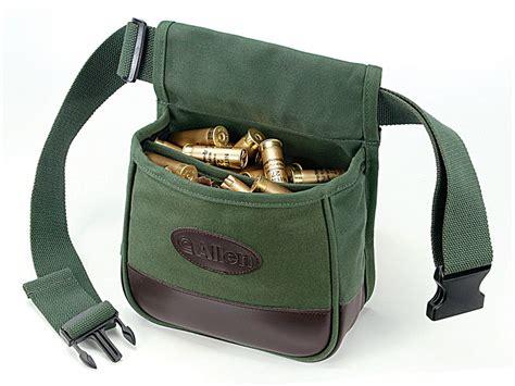 allen shooter s divided shotgun shell pouch adjustable