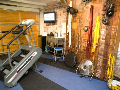 room garage design ideas home gyms in any space hgtv