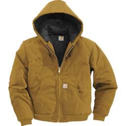 Carhartt Jacket Carhartt Duck Active Jacket Quilt Lined Style