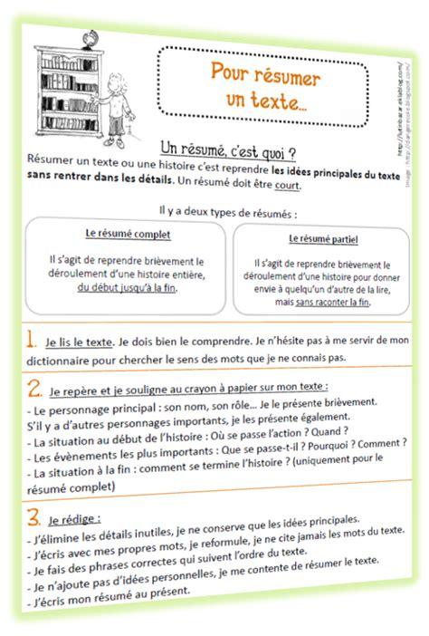Grille Evaluation Cv by Faire Un R 233 Sum 233 De Texte M 233 Thodologie Et Grille D