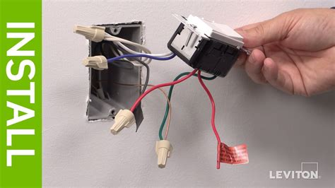 leviton presents how to install a decora digital dse06